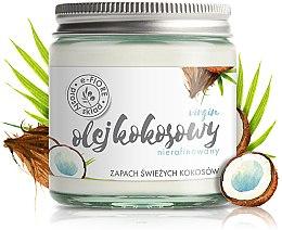 Kup Naturalny nierafinowany olej kokosowy w szkle - E-Fiore