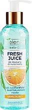Kup Nawilżający żel micelarny do twarzy z bioaktywną wodą cytrusową - Bielenda Fresh Juice