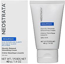 Kup Rewitalizujący krem wygładzający do twarzy z glikolem - Neostrata Resurface Glycolic Renewal Smoothing Cream Ultra