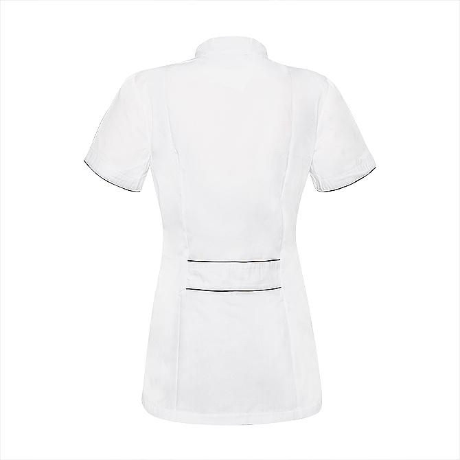 Fartuch kosmetyczny, rozmiar M, biały - NeoNail Professional — фото N2