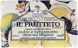 Kup Mydło kosmetyczne Cytryna i bergamotka - Nesti Dante Il Frutteto Soap
