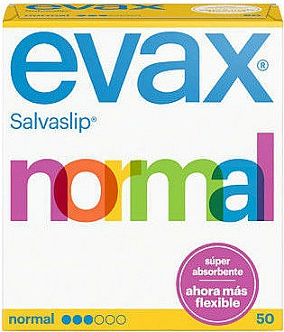 Wkładki higieniczne Normal, 50 szt. - Evax Salvaslip — фото N1