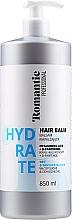 Kup Balsam do włosów suchych z kwasem hialuronowym i D-panthenolem - Romantic Professional Hydrate Hair Balm