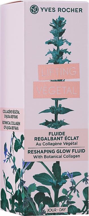 PRZECENA! Liftingujący fluid rozświetlający do twarzy - Yves Rocher Lifting Vegetal* — фото N2