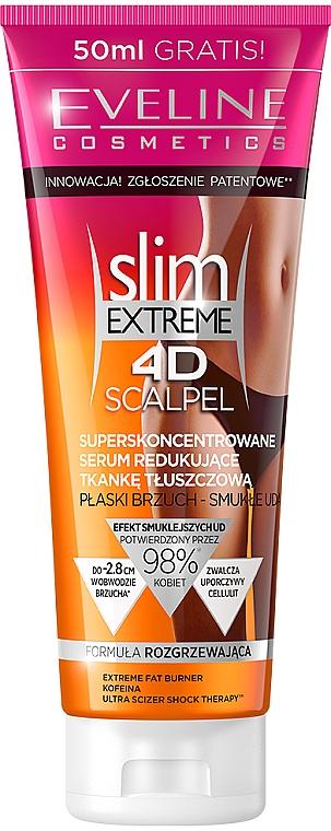 Superskoncentrowane serum redukujące tkankę tłuszczową - Eveline Cosmetics Slim Extreme 4D Scalpel