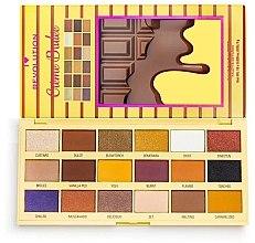 Kup Paleta cieni do powiek - I Heart Revolution Eyeshadow Chocolate Palette Crème Brulee