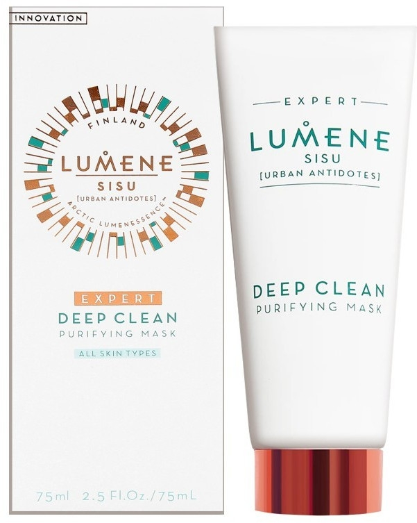 Głęboko oczyszczająca maseczka do twarzy - Lumene Sisu [Urban Antidotes] Expert Deep Clean Purifying Mask — фото N1