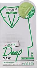 Kup Zielona maska z mikrofibry z ekstraktem z mięty pieprzowej - Dewytree AC Control Deep Mask