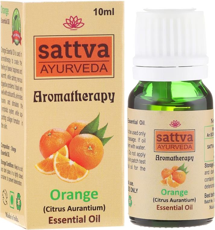 Olejek pomarańczowy - Sattva Ayurveda Aromatherapy Orange Essential Oil — фото N1