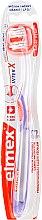 Kup Miękka szczoteczka do zębów przeciw próchnicy, przezroczysto-fioletowa - Elmex Toothbrush Caries Protection InterX Soft Short Head