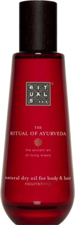 Odżywczy naturalny suchy olejek do ciała i włosów - The Ritual of Ayurveda Dry Oil Vata — фото N1