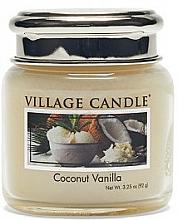 Kup Świeca zapachowa w słoiku - Village Candle Coconut Vanilla