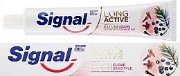Kup Pasta do zębów - Signal Long Active Nature Elements Clove Sensitive
