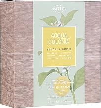 Kup Maurer & Wirtz 4711 Aqua Colognia Lemon & Ginger - Zestaw (edc 50 ml + sh/gel 75 ml)