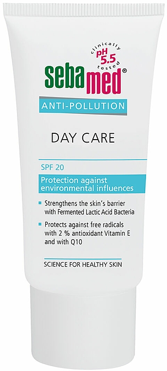 Krem do twarzy na dzień z filtrem SPF 20 - Sebamed Anti-Pollution Day Care — фото N2