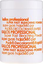 Kup PRZECENA! Proszek do wybielania włosów - Kallos Cosmetics Super Fast Bleaching Powder *