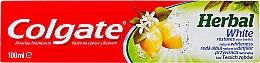 Kup Wybielająca pasta do zębów z olejkiem cytrynowym - Colgate Herbal White With Lemon Oil