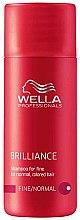 Kup Szampon do cienkich i normalnych włosów farbowanych - Wella Professionals Brilliance Shampoo (mini)