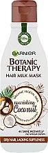 Kup Maska do włosów normalnych i przesuszonych Kokos - Garnier Botanic Therapy Hair Milk Mask Coconut