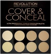 Kup Paletka korektorów do twarzy - Makeup Revolution Ultra Cover & Conceal Palette