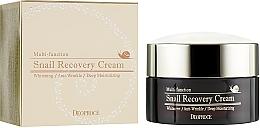Kup Rewitalizujący krem do twarzy z mucyną ślimaka - Deoproce Snail Recovery Cream