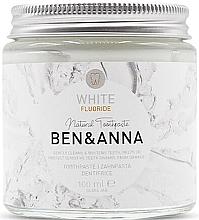 Kup Naturalna wybielająca pasta do zębów - Ben & Anna White Fluoride Toothpaste