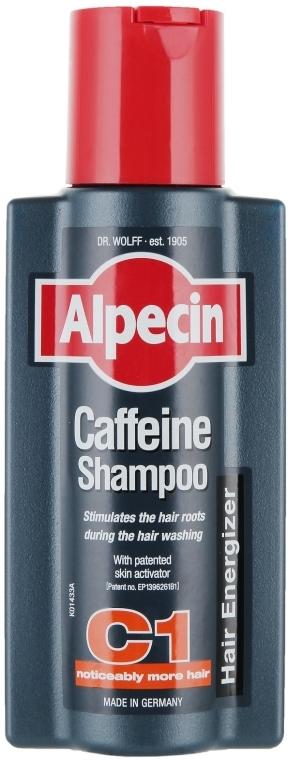 Kofeinowy szampon zapobiegający wypadaniu włosów - Alpecin C1 Caffeine Shampoo