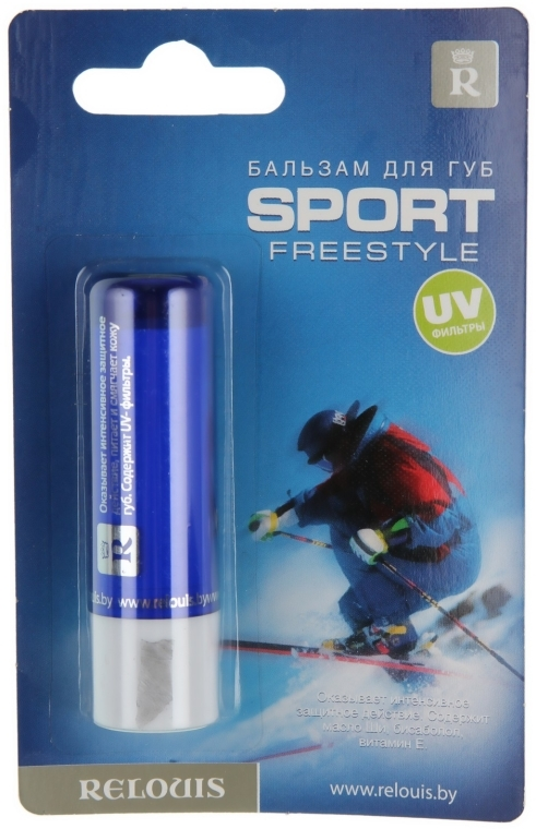 Balsam do ust Sport Freestyle (filtr UV) - Relouis — фото N1