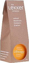 Kup Naturalny dezodorant w kremie Mandarynka i cytryna - The Lekker Company Natural Deodorant Mandarin & Lemon