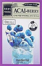 Kup Maska do twarzy w płachcie z ekstraktem z jagód acai i borówki - Mediental Botanic Garden Mask