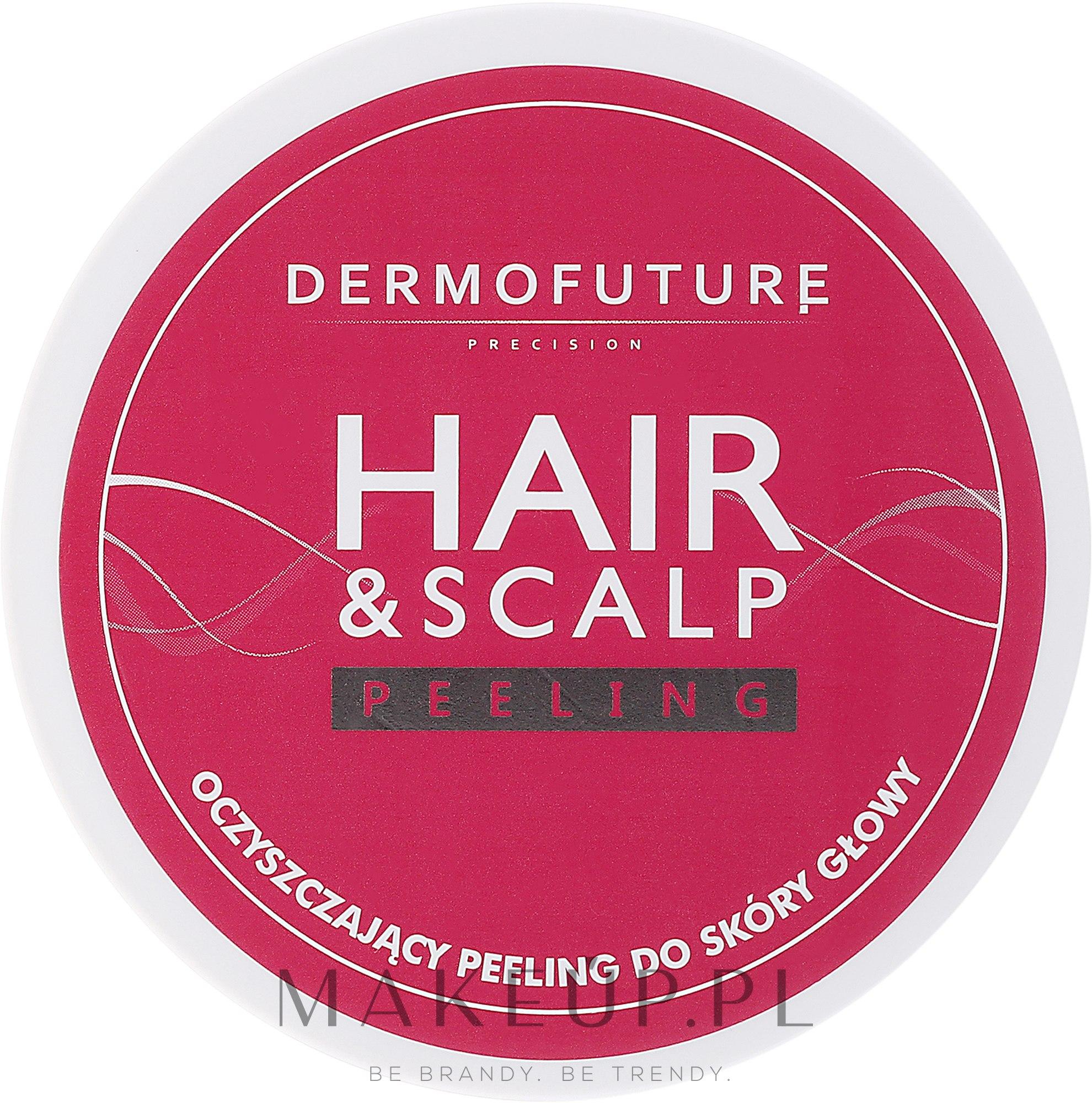Oczyszczający peeling do skóry głowy - DermoFuture Hair&Scalp Peeling — фото 300 ml