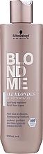Kup Oczyszczający szampon do włosów - Schwarzkopf Professional Blondme All Blondes Detox Shampoo