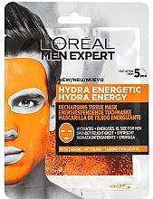 Kup Maska do twarzy w płachcie dla mężczyzn - L'Oreal Paris Men Expert Hydra Energetic