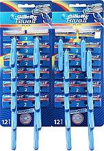 Kup Maszynki do golenia 24 szt. - Gillette Blue II Plus