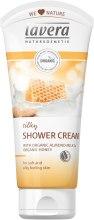 Kup Jedwabisty krem pod prysznic Mleczko migdałowe i miód - Lavera Organic Almond Milk Honey Silky Shower Cream