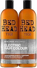 Kup Zestaw do włosów - Tigi Bed Head Colour Goddess (shm 750 ml + cond 750 ml)
