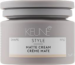 Kup Matujący krem do włosów - Keune Style Matte Cream