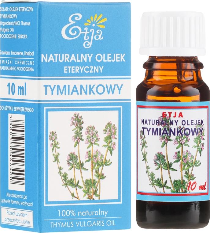 Naturalny olejek tymiankowy - Etja Natural Essential Oil — фото N1