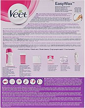 Zestaw do depilacji - Veet Easy Wax Electrical Roll On Kit — фото N2