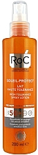 Kup Ochronny balsam w sprayu do opalania - RoC Soleil-Protect High Tolerance Lotion Spray SPF50