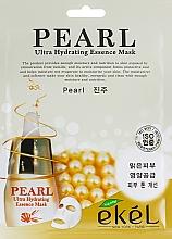 Kup Nawilżająca maska na tkaninie do twarzy z ekstraktem z pereł - Ekel Pearl Ultra Hydrating Essence Mask