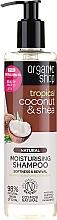 Kup Naturalny nawilżający szampon do włosów Tropikalny kokos i masło shea - Organic Shop Coconut Shea Moisturising Shampoo