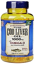 Kup Suplement diety Olej z wątroby dorsza - Holland & Barrett Cod Liver Oil 1000mg