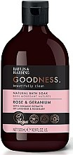 Kup Naturalny płyn do kąpieli - Baylis & Harding Goodness Rose & Geranium Natural Bath Soak