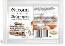 Kup Naturalna maska algowa z olejem arganowym i glinką ghassoul - Nacomi Shaker Mask