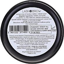Mydło do stylizacji brwi - Lash Brow Soap — фото N2