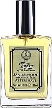 Kup Taylor Of Old Bond Street Sandalwood Alcohol Free Aftershave Lotion - Płyn po goleniu