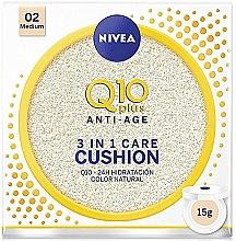 Kup Kremowy podkład cushion - Nivea Q10 Plus Anti-Aging Radiance BB Cushion