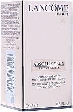 Kup Serum do skóry wokół oczu - Lancome Absolue Yeux Precious Cells Eye Serum