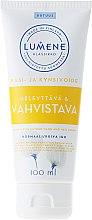Kup Wzmacniający krem do dłoni i paznokci z wyciągiem z arktycznej bawełny - Lumene Klassikko Glow & Strengthen Hand & Nail Cream